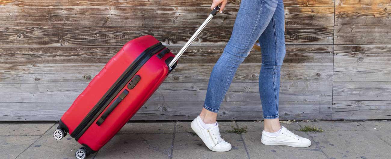 Grávida deve carregar bagagens leves