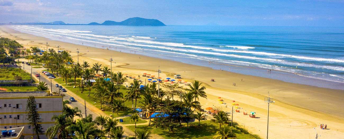 A beleza das praias de Bertioga (SP)