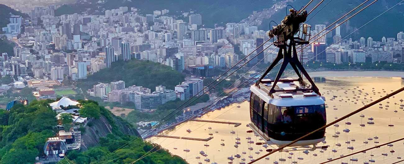 Bondinhos do Pão de Açúcar - Rio de Janeiro (RJ)