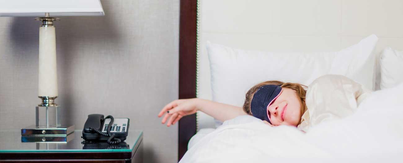 Aproveite para colocar o sono em dia