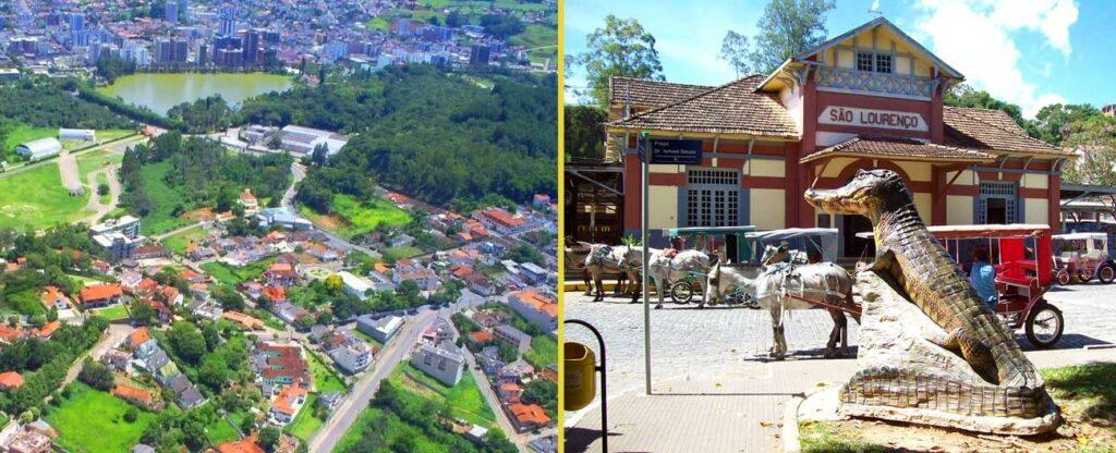 Viagem romântica em São Lourenço (MG)
