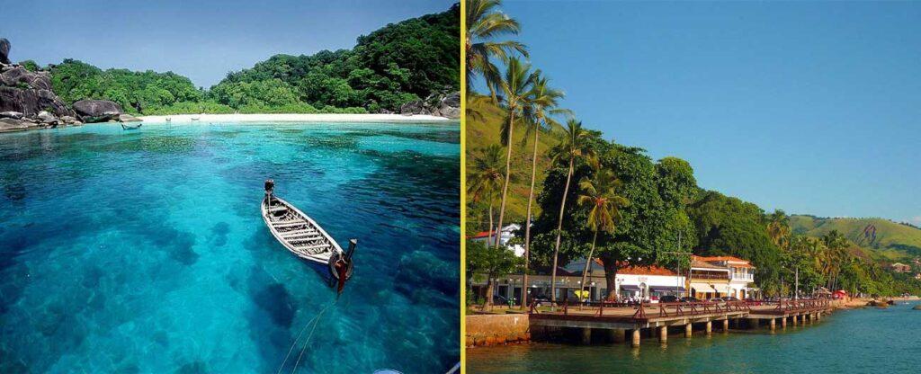 Viagem romântica em Ilhabela (SP)