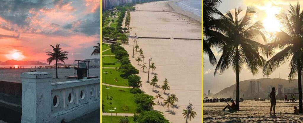 O que fazer em Santos: principais praias